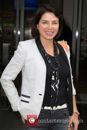 Sadie Frost - Sadie Frost arriving at the BBC Radio 2 studios at BBC Western House - London, United Kingdom...