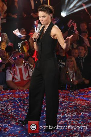 Emma Willis - Celebrities enter the Celebrity Big Brother 2015 house - Arrivals at Celebrity Big Brother - London, United...