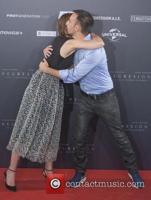 Alejandro Amenabar , Emma Watson - Photocall of 'Regression' at Villamagna Hotel - Madrid, Spain - Thursday 27th August 2015