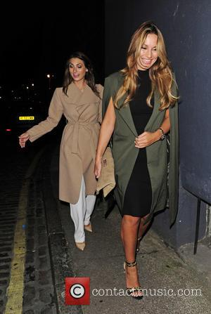 Sam Faiers and Luisa Zissman