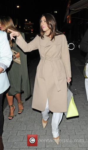 Luisa Zissman - Sam Faiers and Luisa Zissman leaving the Chiltern Firehouse together. Sam was pictured for the first time...