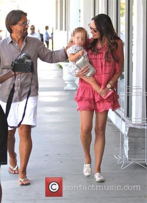 Tamara Ecclestone, Sophia Eccelstone-Rutland , Jay Rutland - Tamara Ecclestone takes her family shopping in Beverly Hills - Los Angeles,...
