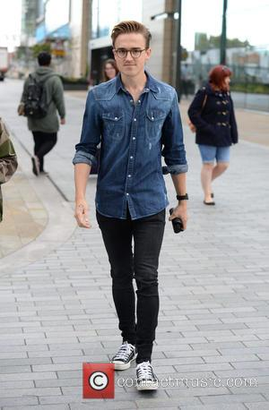 Tom Fletcher - Celebrities arrive at the BBC Breakfast studios at MediaCityUK - Manchester, United Kingdom - Friday 28th August...