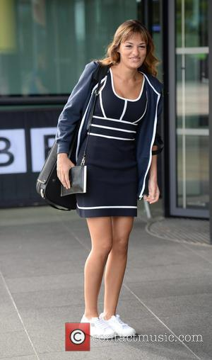 Nicola Benedetti - Celebrities arrive at the BBC Breakfast studios at MediaCityUK - Manchester, United Kingdom - Friday 28th August...