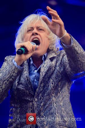 Sir Bob Geldof , The Boomtown Rats - Sir Bob Geldolf performs with his the band The Boomtown Rats at...