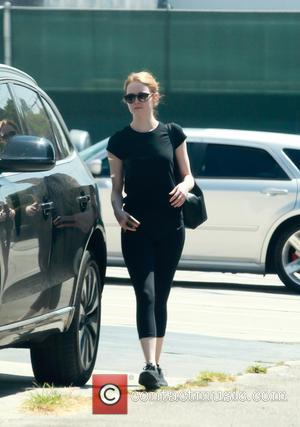 Emma Stone - Emma Stone spotted leaving the gym in Beverly Hills - Los Angeles, California, United States - Friday...