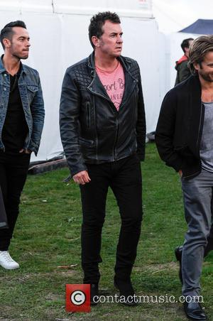 Shane Richie - Shane Richie backstage at Fusion Festival 2015 at Cofton Park in Birmingham - Friday at Cofton Park...