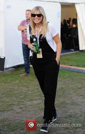 Kate Thornton - Kate Thornton backstage at Fusion Festival 2015 at Cofton Park in Birmingham - Friday at Cofton Park...