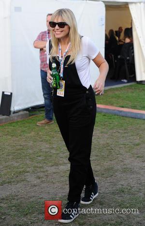 Kate Thornton - Kate Thornton backstage at Fusion Festival 2015 at Cofton Park in Birmingham - Friday at Cofton Park...