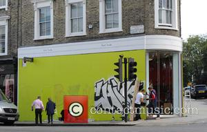 Atmosphere - Notting Hill shops and Houses being boarded up a head of the Notting Hill carnival 2015. - London,...