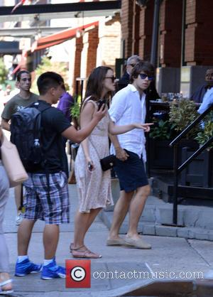 Keira Knightley , James Righton - Keira Knightley and James Righton walking in TriBeCa - Manhattan, New York, United States...