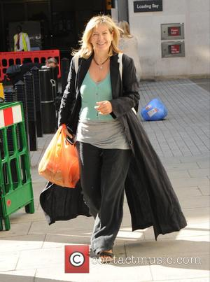 Penny Smith - Penny Smith seen out and about in London - London, United Kingdom - Friday 28th August 2015
