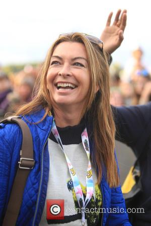 Suzi Perry - Chris Evans records 'The One Show' at Carfest with appearances by numerous celebrity guests - Guilford, United...
