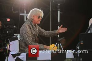 Sir Bob Geldof - Chris Evans records 'The One Show' at Carfest with appearances by numerous celebrity guests - Guilford,...