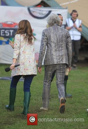 Sir Bob Geldof , Alex Jones - Chris Evans records 'The One Show' at Carfest with appearances by numerous celebrity...