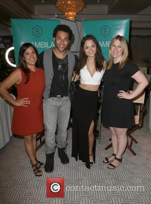 Corbin Bleu, Sasha Clements , Guests - Steve Nguyen & Associates host the 'Legacy Lounge Iconic Suite 2015' at The...
