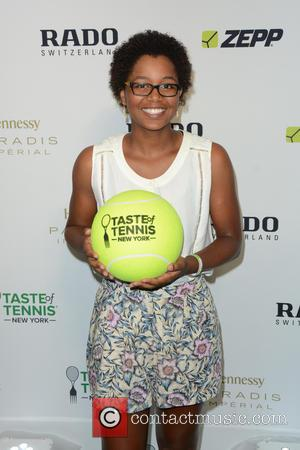 Victoria Duval - Taste of Tennis Week: Taste of Tennis Gala - Arrivals - Manhattan, New York, United States -...