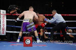 Joey Dawejko , Natu Visinia - Don King Productions & The D Las Vegas presents Outdoor Boxing at The DLVEC...