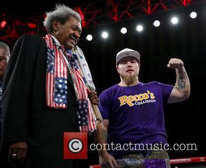Don King , Joey Dawejko - Don King Productions & The D Las Vegas presents Outdoor Boxing at The DLVEC...