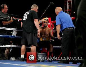 Juan Ubaldo Cabrera - Don King Productions & The D Las Vegas presents Outdoor Boxing at The DLVEC at The...