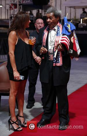 Don King - Don King Productions & The D Las Vegas presents Outdoor Boxing at The DLVEC at The DLVEC...