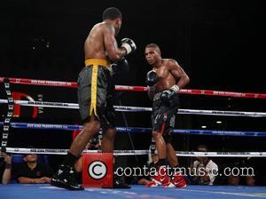DeCarlo Perez , Juan Ubaldo Cabrera - Don King Productions & The D Las Vegas presents Outdoor Boxing at The...