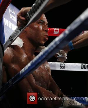 DeCarlo Perez - Don King Productions & The D Las Vegas presents Outdoor Boxing at The DLVEC at The DLVEC...
