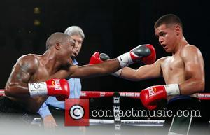 Ruben Hurricane Swain , Salvador Lopez - Don King Productions & The D Las Vegas presents Outdoor Boxing at The...
