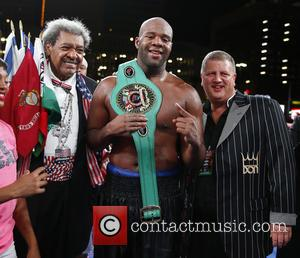 Don King, Trevor Bryan , Derek Stevens - Don King Productions & The D Las Vegas presents Outdoor Boxing at...