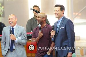 Matt Lauer, Darius Rucker , Carson Daily - Darius Rucker performing live on the Today show as part of NBC's...