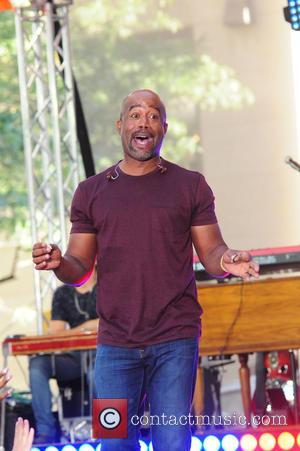 Darius Rucker - Darius Rucker performing live on the Today show as part of NBC's Toyota Summer Concert Series -...