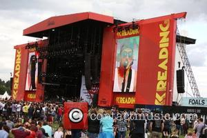 All Time Low , View - Reading Festival 2015 - Day 1 - Performances at Reading Festival - London, United...