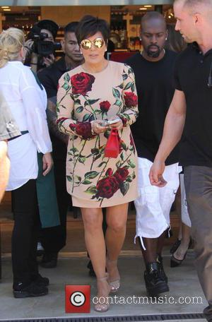 Kris Jenner , Corey Gamble - Kris Jenner attends a book signing at Williams-Sonoma The Commons for her book 'In...