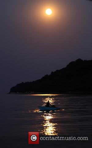 Super Moon - A Super Moon appears over the Bulgarian Black Sea town of Varna. Tonight's full moon will be...