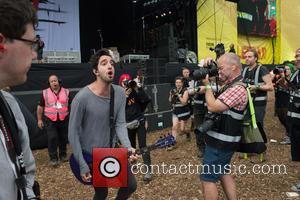 All Time Low - Performances Day 2 Leeds Festival 2015 at Bramham Park, Leeds Festival - Leeds, United Kingdom -...