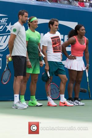 Novak Djokovic, Rafael Nadal, Jack Sock , Serena Willams - US Open Tennis Championship 2015: Arthur Ashe Kids' Day -...