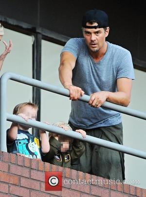 Axl Duhamel , Josh Duhamel - Fergie and Josh Duhamel out with their son Axl on his second birthday -...