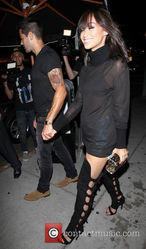 Jesse Metcalfe , Cara Santana - Jesse Metcalfe and Cara Santana leave The Nice Guys - Los Angeles, California, United...