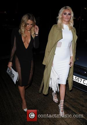 Chloe Sims , Danielle Armstrong - Celebrities at Nu Bar in Loughton, Essex - London, United Kingdom - Saturday 29th...