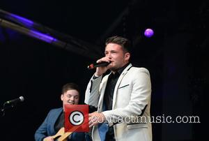Shane Richie Junior Band - Shane Richie Junior Band performs  on the main stage at  Manchester Pride's The...