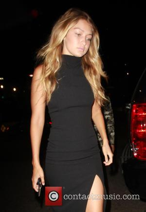 Gigi Hadid - Gigi Hadid and Joe Jonas arrive at Toca Madera in West Hollywood to have dinner together -...