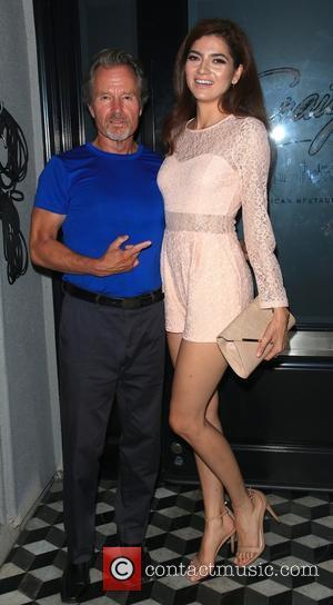 John Savage , Blanca Blanco - Celebrities at Craig's restaurant in West Hollywood - Los Angeles, California, United States -...