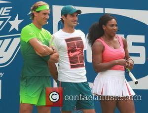 Rafael Nadal, Roger Federer , Serena Williams - US Open Tennis Championship 2015: Arthur Ashe Kids' Day at Billy Jean...