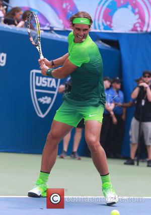 Rafael Nadal - US Open Tennis Championship 2015: Arthur Ashe Kids' Day at Billy Jean King Tennis Center - New...