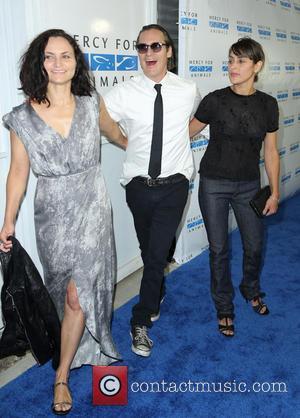 Joaquin Phoenix - Mercy For Animals Hidden Heroes Gala - Arrivals - Los Angeles, California, United States - Saturday 29th...