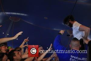 Foals , View - Reading Festival 2015 - Day 2 at Reading Festival - Reading, United Kingdom - Saturday 29th...