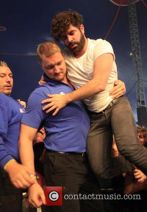 Foals - Reading Festival 2015 - Day 2 at Reading Festival - Reading, United Kingdom - Saturday 29th August 2015
