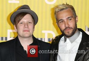 Patrick Stump, Pete Wentz , Fall Out Boy - Celebrities attend 2015 MTV Video Music Awards at Microsoft Theater. at...