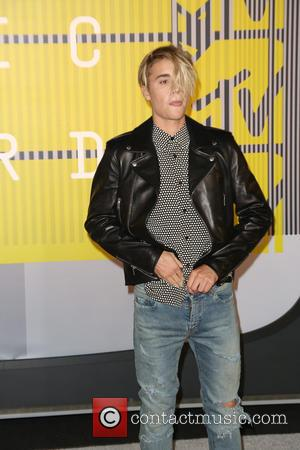 Justin Bieber - 2015 MTV Video Music Awards (VMA's) at the Microsoft Theater - Arrivals at Microsoft Theater - Los...