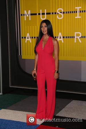 Kylie Jenner , Kourtney Kardashian - 2015 MTV Video Music Awards (VMA's) at the Microsoft Theater - Arrivals at The...